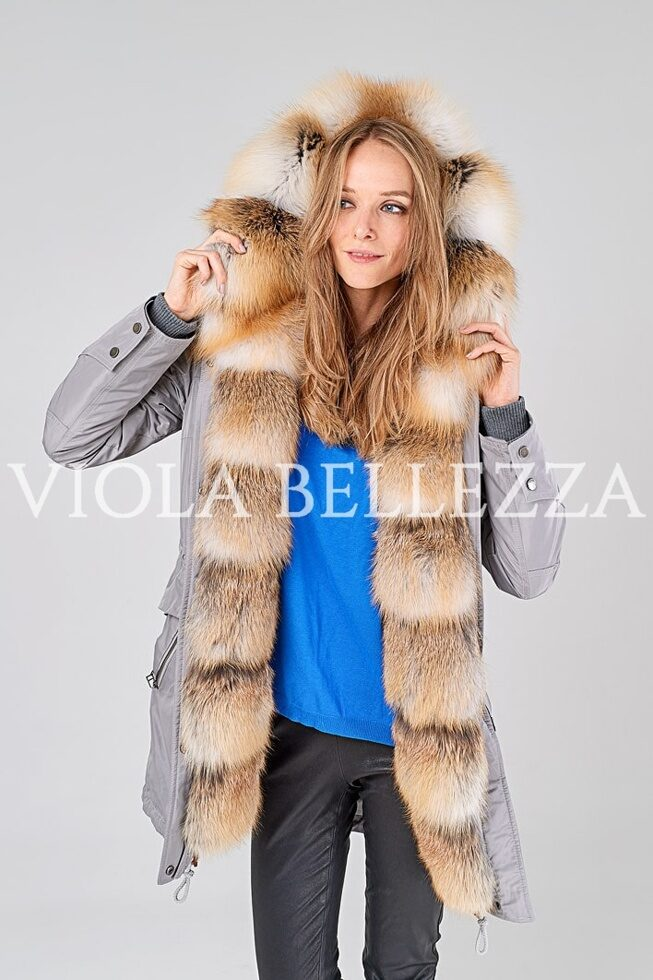 Парка GRAZIA Grey/Gold Island Fox Saga